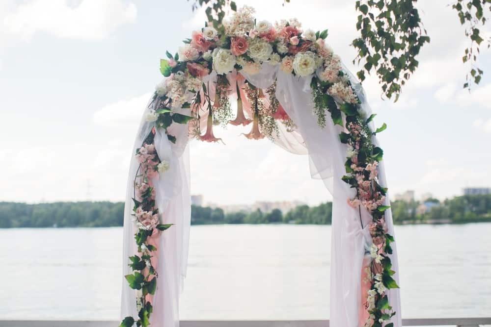arco para cerimonia de casamento