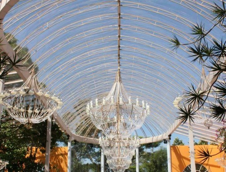 Toldo em Arco – ANR Jardim Botânico